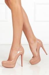 Туфли из лакированной кожи Bianca 140 Christian Louboutin