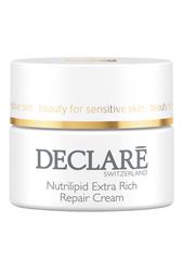 Восстанавливающий крем для сухой кожи Nutrilipid Nourishing Repair, 50ml Declare