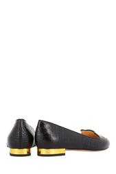 Кожаные туфли Mid-Century Kitty Charlotte Olympia