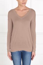 Пуловер из шелка и хлопка Myone