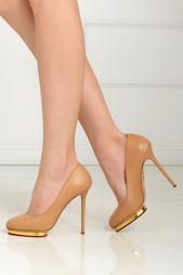 Кожаные туфли Dotty Charlotte Olympia