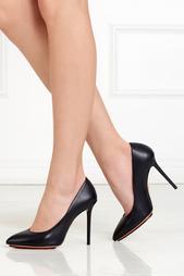 Черные Кожаные туфли Nap Monroe Charlotte Olympia