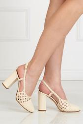 Кожаные туфли Willa Charlotte Olympia