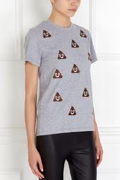 Хлопковая футболка Turds Candyshop