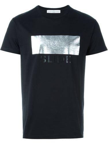 футболка с принтом металлик Golden Goose Deluxe Brand