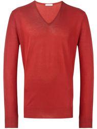 свитер с V-образным вырезом Boglioli