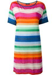 полосатое трикотажное платье Twin-Set