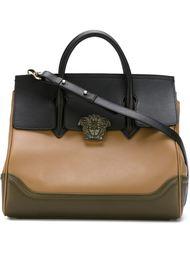 сумка-тоут с логотипом  Versace