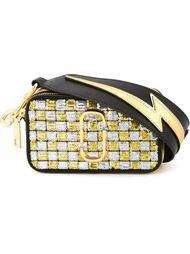 сумка для фотоаппарата 'Snapshot Sequins Checker' Marc Jacobs