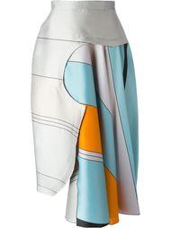 асимметричная юбка 'Niamh'  Roksanda