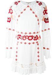 платье с цветочной вышивкой  For Love And Lemons