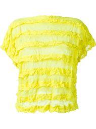 полупрозрачная футболка  Issey Miyake Cauliflower