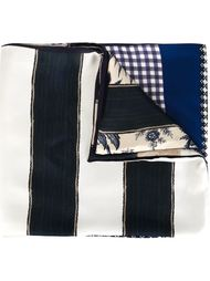 mixed-print scarf Pierre-Louis Mascia
