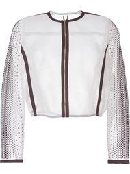 укороченная сетчатя куртка  Aviù