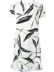 платье с принтом листьев Eggs