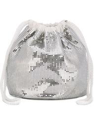 сумка с пайетками Paco Rabanne