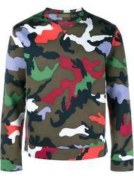 'Rockstud' camouflage sweatshirt Valentino