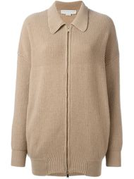 collared zip-up cardigan Stella McCartney