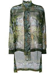 прозрачная блузка  Alberta Ferretti