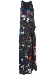 платье с цветочным принтом   Cédric Charlier