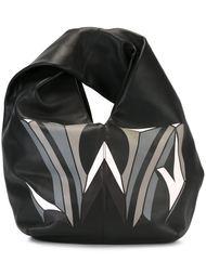 сумка-хобо с принтом логотипа J.W. Anderson