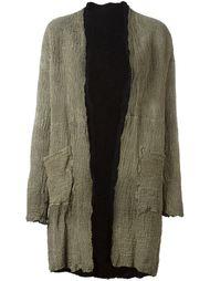 перфорированное пальто  Salvatore Santoro