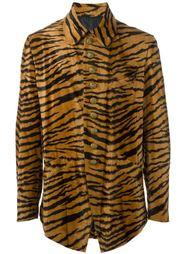пиджак с тигровым принтом Jean Paul Gaultier Vintage