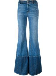 расклешенные джинсы Alexander McQueen