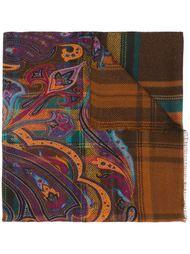 paisley pattern scarf Etro