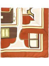шарф 'Les Coupés' Hermès Vintage