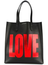 сумка-тоут с надписью Love Givenchy