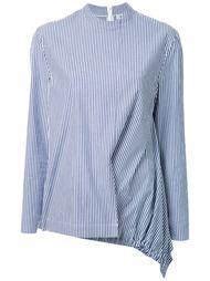 блузка с драпировкой в полоску Fad Three