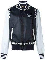 куртка с принтом маргариток Adidas