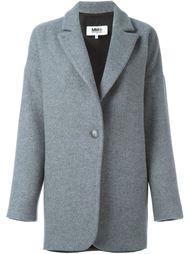 пальто на пуговицах  Mm6 Maison Margiela