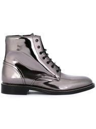 ботинки на молнии сбоку Dsquared2