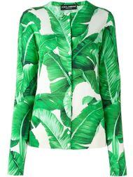 кардиган с банановыми листьями Dolce & Gabbana