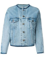джинсовая куртка с воротником-стойкой Re/Done