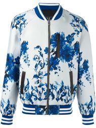 куртка-бомбер с цветочным принтом Unconditional