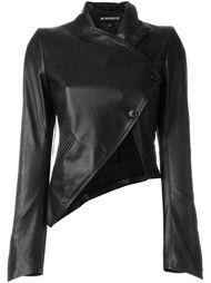 асимметричная укороченная куртка Ann Demeulemeester