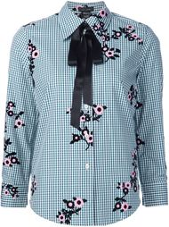 floral gingham shirt  Marc Jacobs