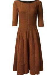 flared knit dress Gig