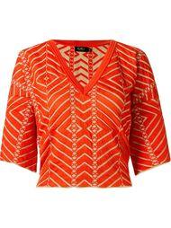 v-neck knit blouse Gig