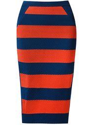striped knit midi skirt Gig
