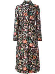 жаккардовое пальто с цветочным узором Red Valentino