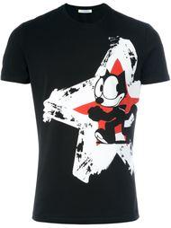 футболка с принтом звезды  Iceberg