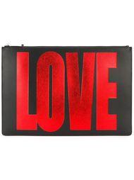 """клатч с принтом """"love"""" Givenchy"""