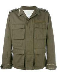 куртка в стиле милитари 'Rockstud'  Valentino