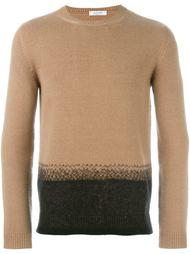 двухцветный свитер  Valentino