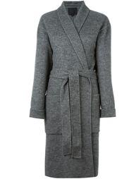 пальто с поясом  Alexander Wang