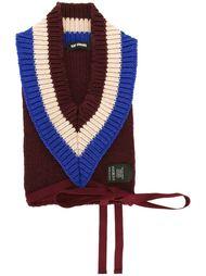 свитер с V-образным вырезом Raf Simons